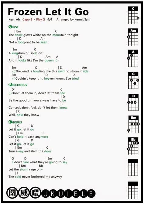let it go guitar tabs 25 best ideas about let it go chords on pinterest let