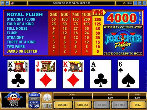 jacks or better guide learn how to play this casino classic