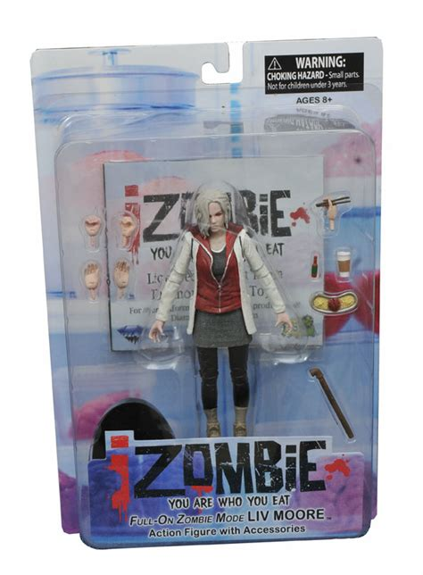 Izombie Liv 7 On Power Up Select on sale this week batman harley quinn izombie and