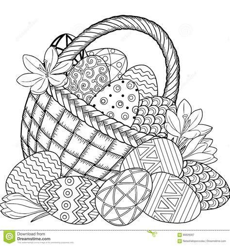 town easter coloring book coloring pages for relaxation stress relieving coloring book books happy easter black and white doodle easter eggs in the
