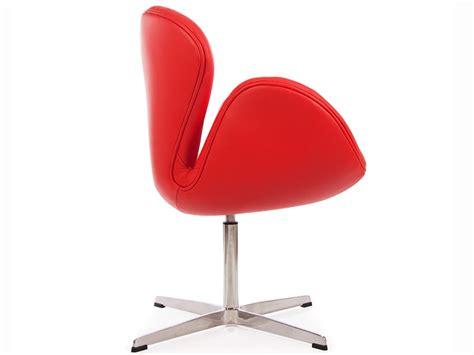 sedie arne jacobsen sedia swan arne jacobsen rosso