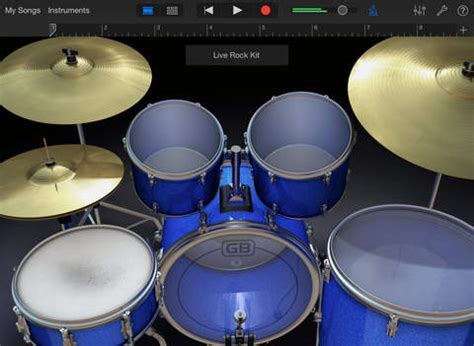 Garageband Jazz Drum Kit Garageband On The App Store On Itunes