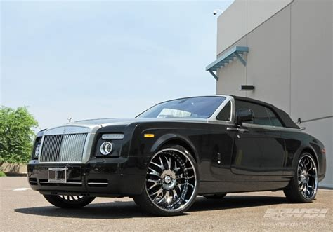 roll royce chrome 2011 rolls royce phantom drophead coupe with 26 quot asanti af