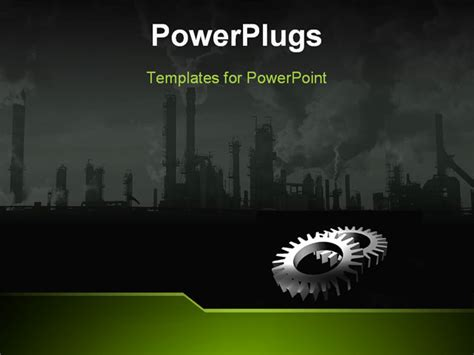 industrial powerpoint templates powerpoint template a depiction of an industrial