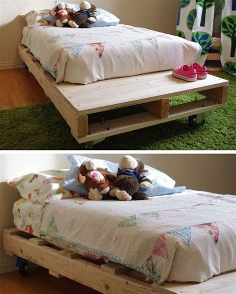 diy pallet bed tutorial 22 bedroom decorating ideas on a budget