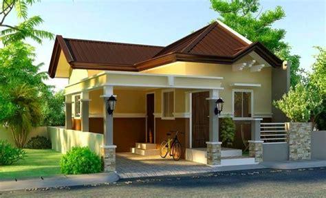 small modern house plan  interior design pinoy house
