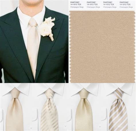 wedding inspiration for chagne bows n ties