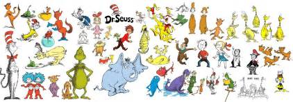 dr seuss characters