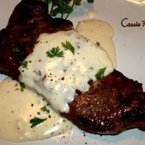 steak with creamy garlic parmesan sauce recipe garlic