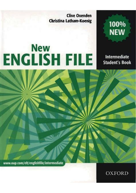 english file third edition 0194598713 english file intermediate sb