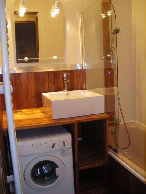 Machine A Laver Petit Espace petit espace bien am 233 nag 233 lave linge sdb salle de bain