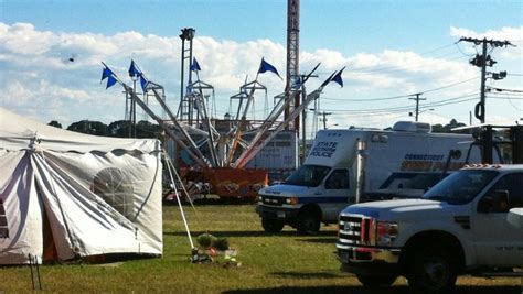 swing ride accident 13 children injured in connecticut carnival ride accident