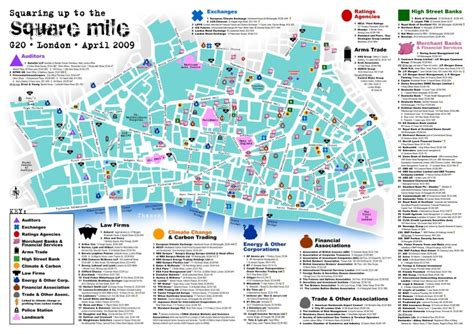 Square Milo squaring up to the square mile the g20 map uk indymedia