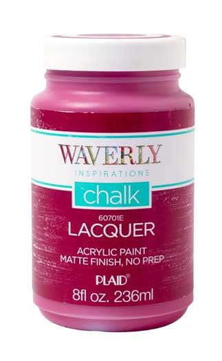 acrylic paint lacquer waverly 174 inspirations matte chalk acrylic paint lacquer