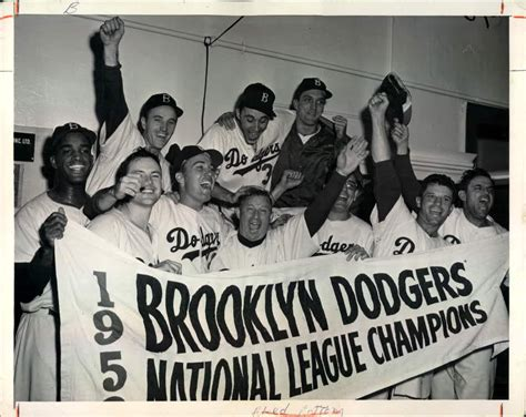 sports news archives page 5 of 7 official s188 blog lot detail 1958 brooklyn dodgers nl pennant quot the