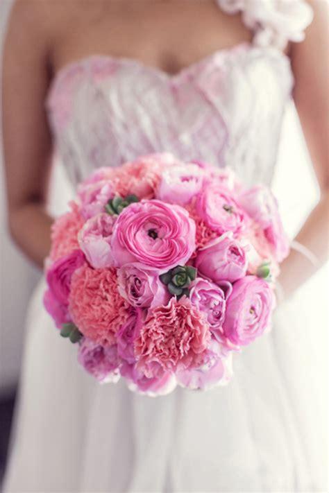 10 beautiful pink wedding bouquets part 1 flowerona - Pink Wedding Flower Bouquets Pictures