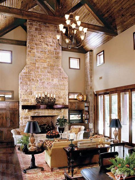 Ranch Style Home Interior by Gorgeous Texas Ranch Style Estate Idesignarch Interior