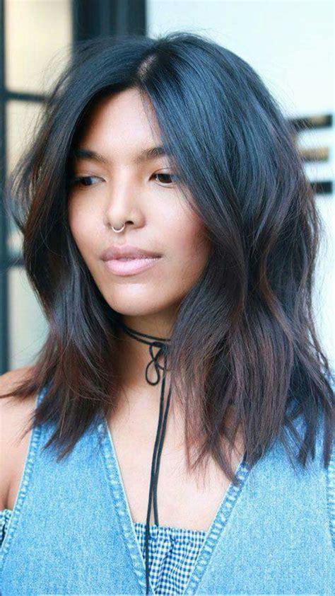 hair cuts on pinterest 23 images on diagonal forward bangs and 42 best hair cuts medium to short bob messy bangs