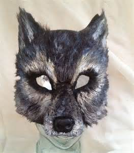 Wolf Mask Big Bad Gray Wolf Mask By Femaleartcollective On Etsy 54 00 Play Prettys Pinterest