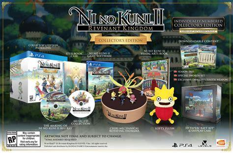 Ni No Kuni Ii Revenant Kingdom Collector Edition Ps4 ni no kuni 2 collectors edition season pass details