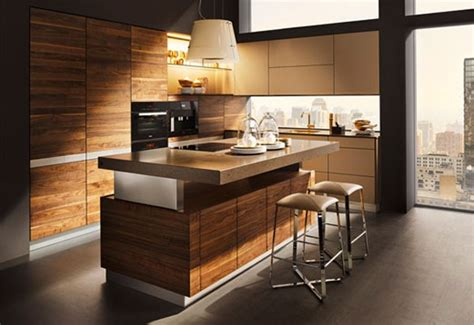 K Kitchen by K7 Wood Kitchen Ideas Modern For Open Living Areas