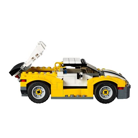 Lego Creator 3 In 1 31046 Fast Car Set Motorcar Truck Forklift Tractor lego 31046 creator fast car at hobby warehouse