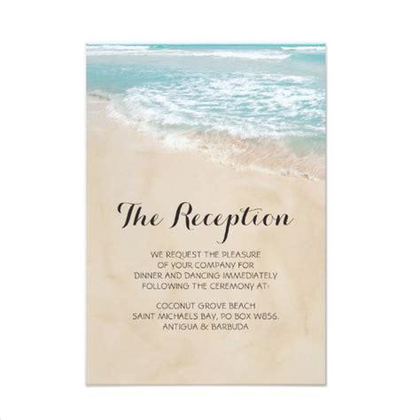 wedding reception card template 14 wedding reception card designs templates psd ai