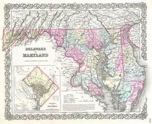 file 1855 colton map of delaware maryland and washington