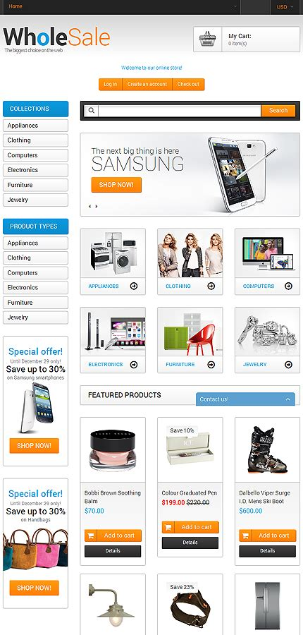 shopify wholesale theme wholesale store shopify theme 51098