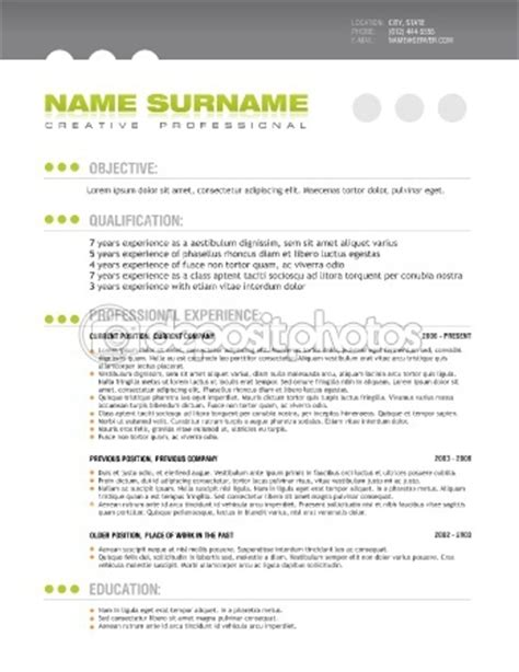 Resume Tips Layout 18 Best Images About Resume On Layout Template