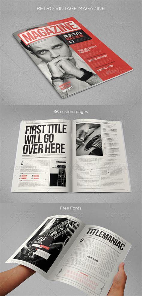 amazing indesign magazine layout cover design