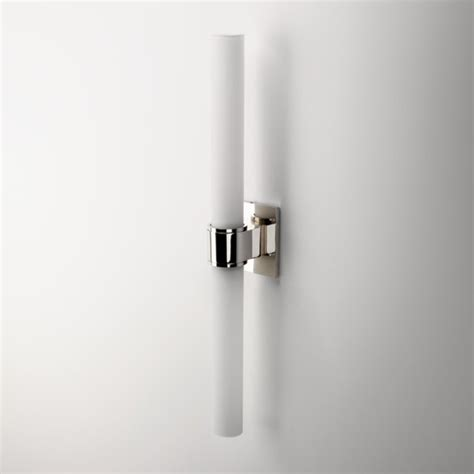 opus wall mounted arm sconce with cylinder shade