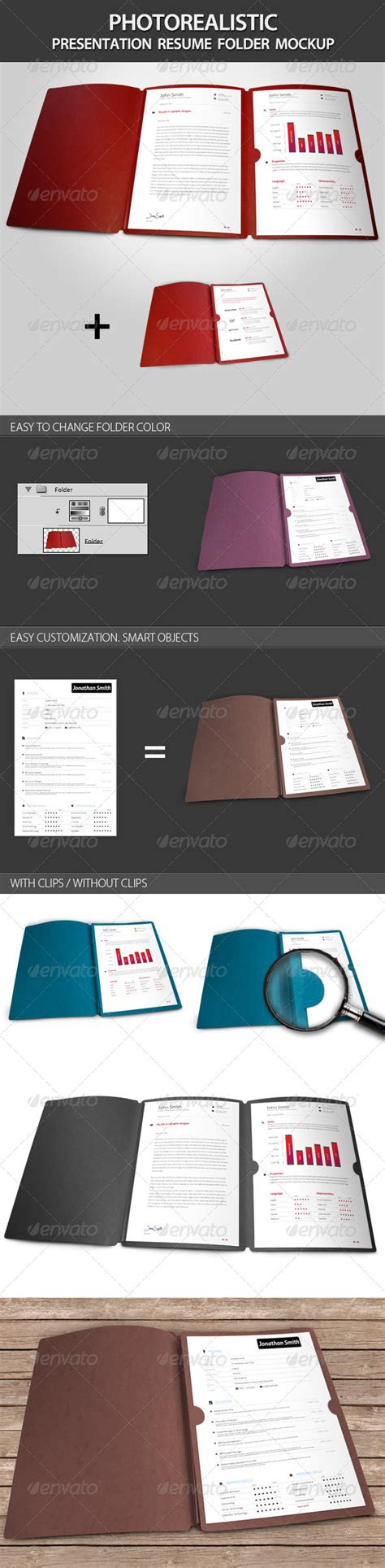 Resume Presentation Folder by Resume Format Cv Presentation Folder
