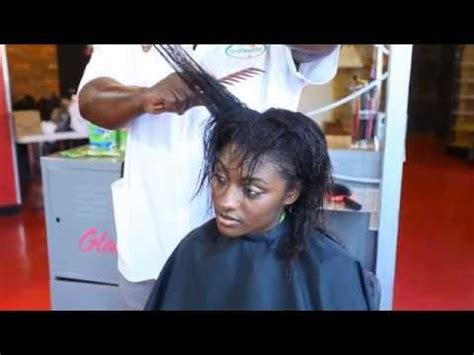 how to repair chemically damaged hair (relaxed) youtube