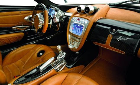 pagani huayra interior car and driver
