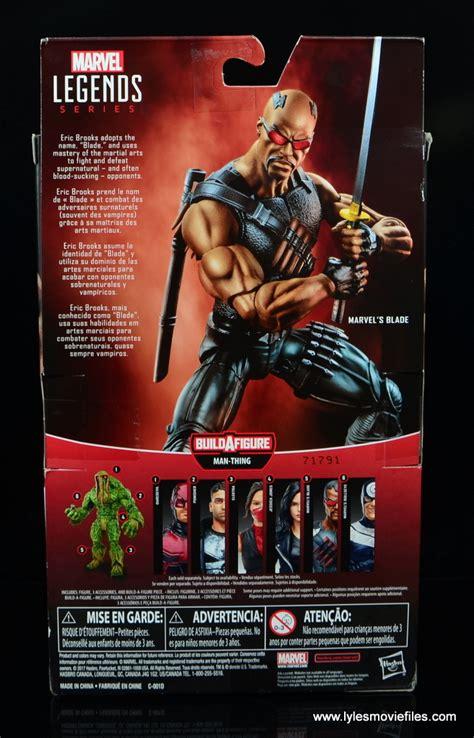 Blade Marvel Legends Hasbro Figure marvel legends blade figure review baf thing wave