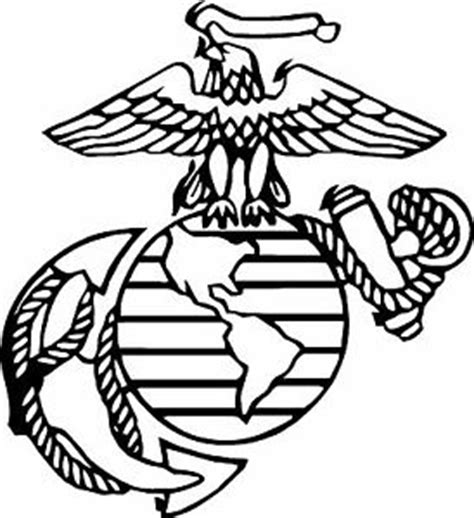 usmc united states marine corps vinyl decal sticker army