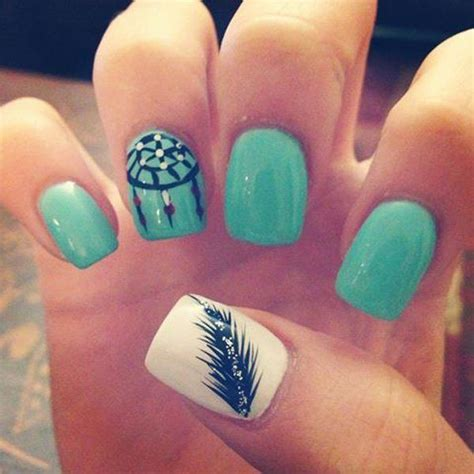 number 1 summer nails 25 best ideas about teal nail designs on pinterest