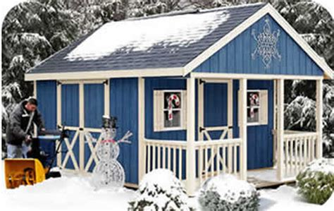 fairview  wood storage shed kit  porch