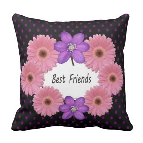 The Pillow Friend best friends pillow zazzle