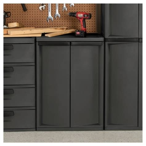 Sterilite Storage Cabinets by Sterilite 2 Shelf Storage Cabinet Manicinthecity