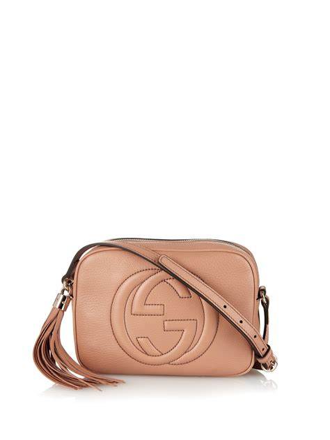 Gucci Soho Bag lyst gucci soho leather cross bag in brown