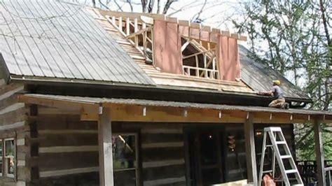 mountain cabin renovation vlog  dormer framing