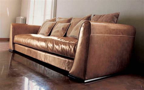vanceton brown leather traditional wood sofa loveseat luxuriant brown gloss leather traditional sofas with arms
