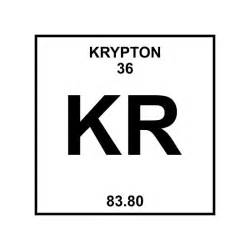 Kr Periodic Table by Quot Krypton Periodic Table Quot Posters By Ladycyprus Redbubble