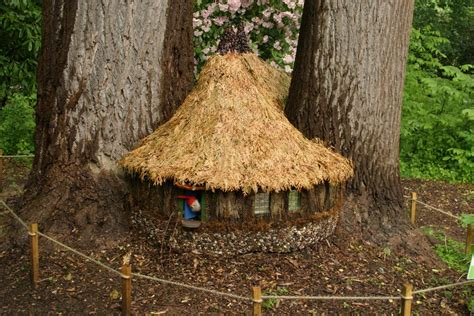 a home fit for a gnome gardening