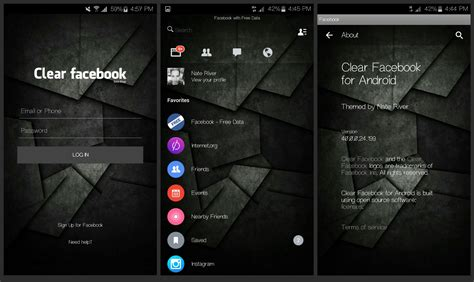 facebook themes mod apk facebook messenger transparent mod apk 187 facebook