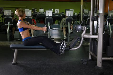seated cable row seated cable rows exercise guide and