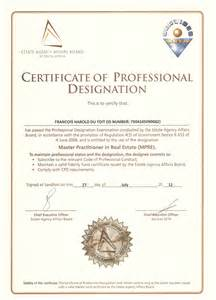 cpd certificate template sapropertylink real estate agents in cape town