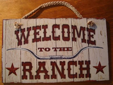western home decor rustic old west style signs welcome to the ranch rustic country primitive western farm